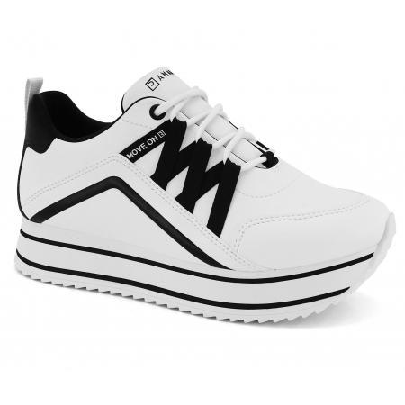 Tenis Ramarim Chunky Sneaker Sola Alta 2171202 Feminino
