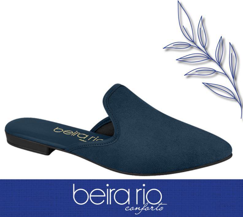 Sapato Beira Rio Mule Sapatilha Conforto 4134.443 Feminino