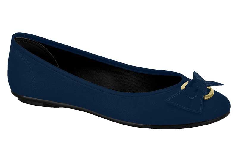 Sapatilha Moleca Laço 5291. Sapato Casual Feminina
