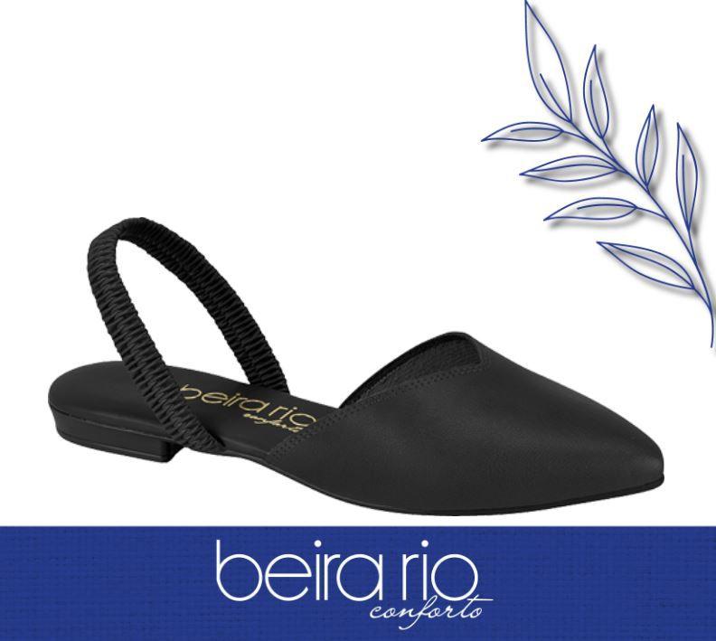 Sapato Beira Rio Mule Sapatilha Conforto 4134.446 Feminino