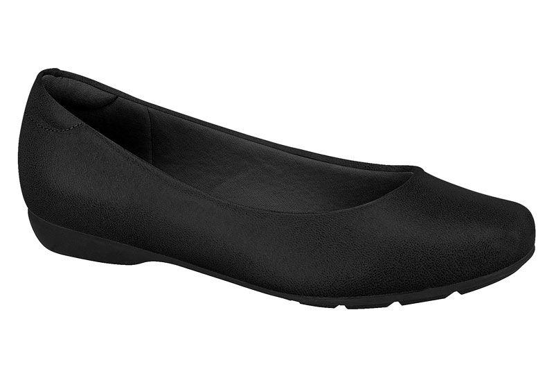 Sapatilha Modare sapato De Uniforme 7016. Feminino Preto