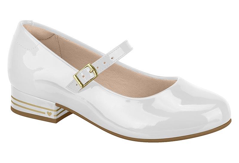 Sapato Molekinha Salto Conforto 2528.201 Infantil Menina