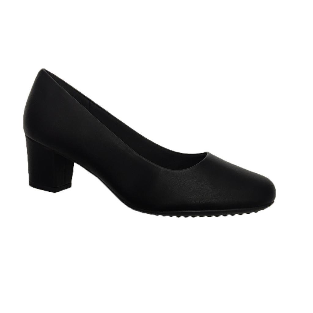 Sapato Piccadilly 110072 Baixo De Uniforme Feminino Preto