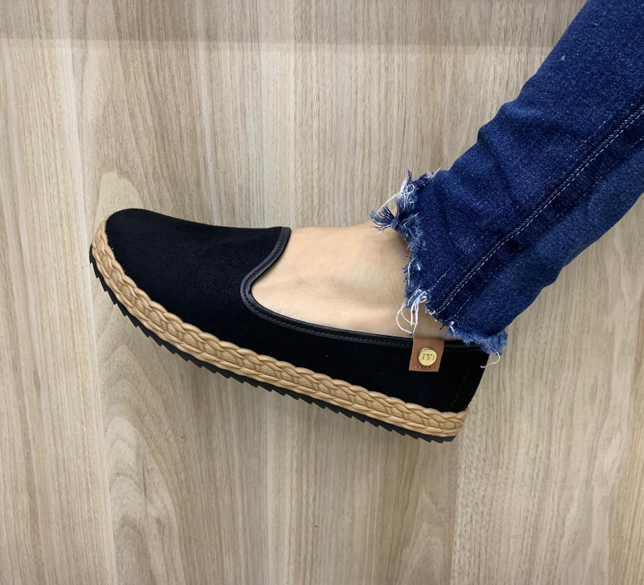 Sapato Sapatilha Moleca Casual Confortável 5696.104/204 Feminino