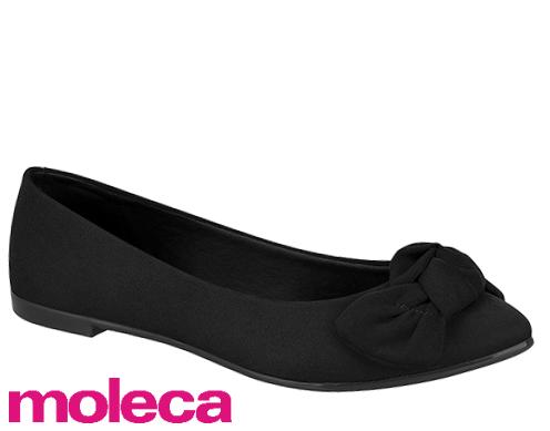 Sapato Sapatilha Moleca Casual Laço 5635.127 Feminino