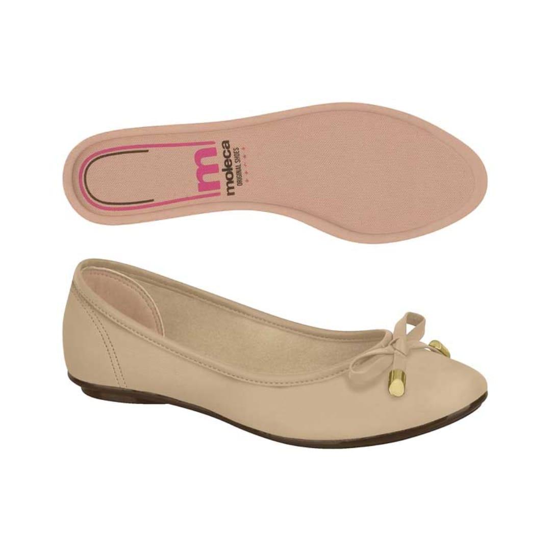 Sapato Sapatilha Moleca Casual Laço 5642.213 Feminino Promoção