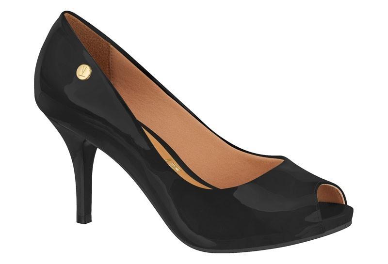 Sapato Vizzano Peep Toe Salto Fino1781.407 Feminino