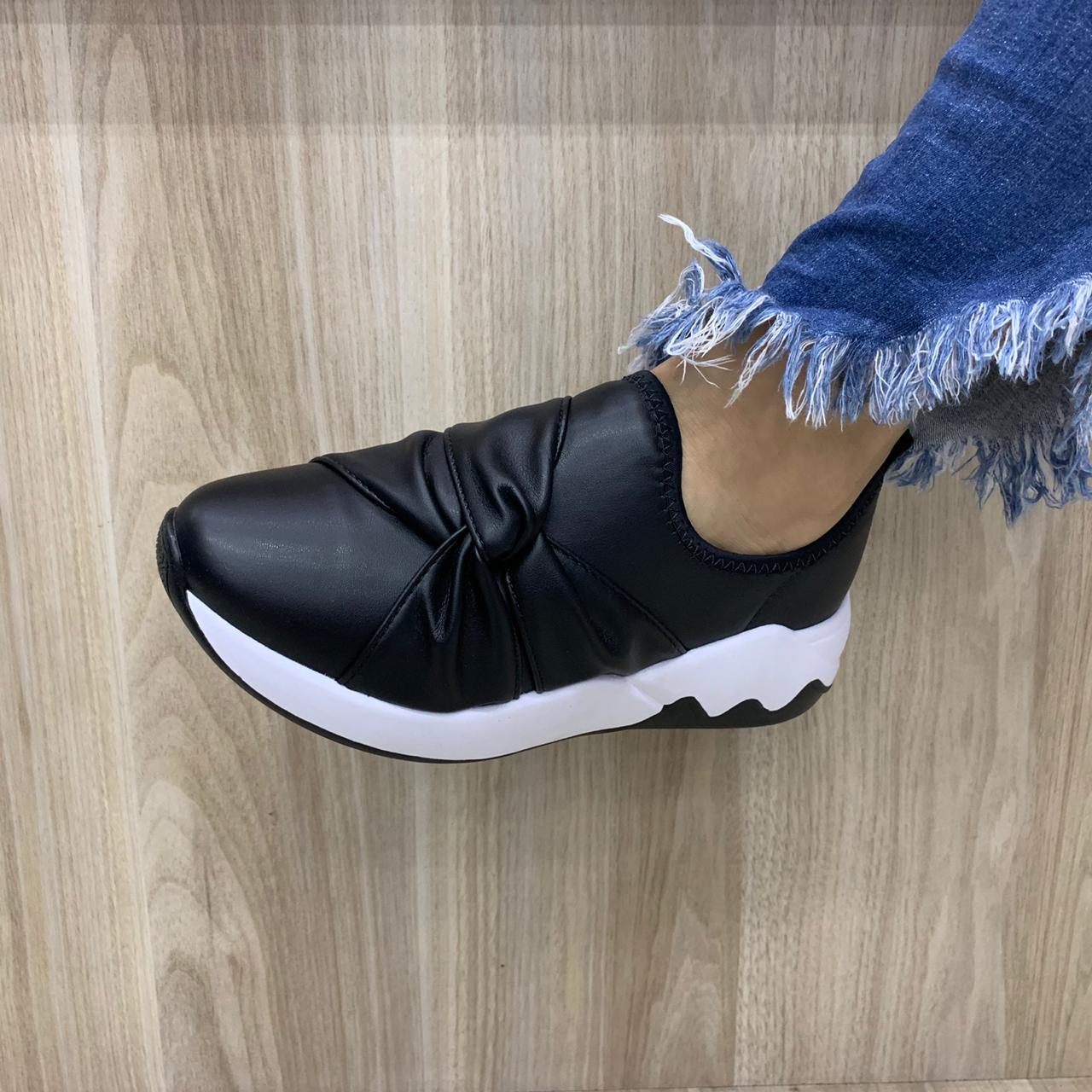 Tênis Beira Rio Chunky Sneaker Sem Cadarço 4242.102 Feminino