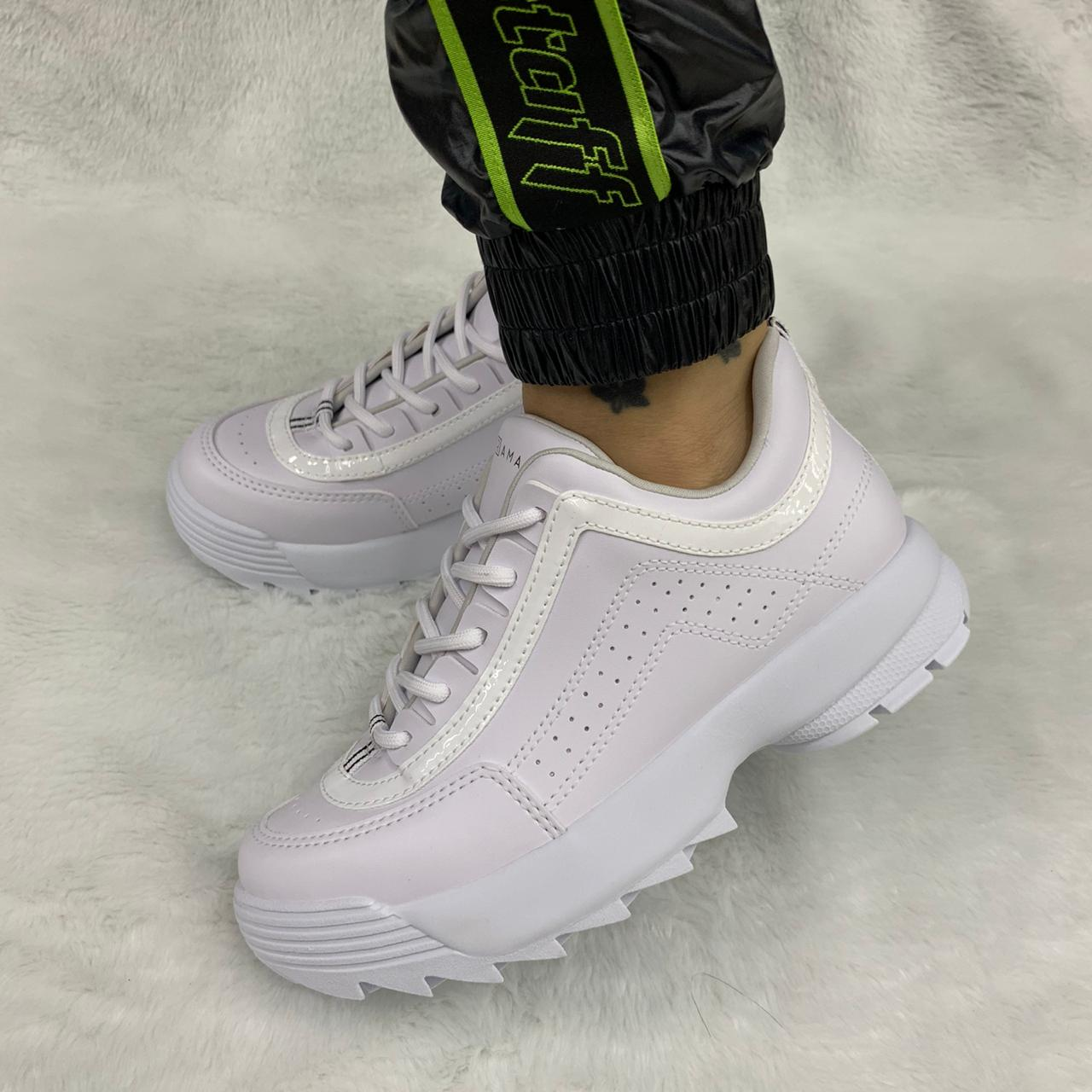 Tênis Chunky Ramarim Sneaker Tratorado 2075102 Feminino