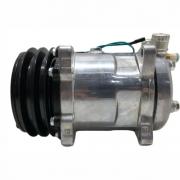 Compressor de ar condicionado 5H14 - 8 Orelhas - Sídas para cima