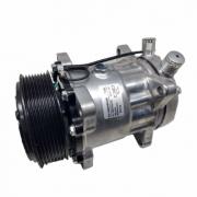 Compressor de ar condicionado 7H15 Polia  8PK 24V - 8 Orelhas