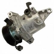 Compressor de ar condicionado Calsonic CR08 Nissan Versa - March - 20011 até 2014