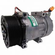 Compressor de ar condicionado Caminhão Scania 13 >> - Original Sanden