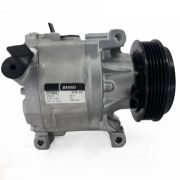 Compressor de ar condicionado Fiat Palio - Uno - Siena - Punto Idea - Denso Original