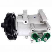 Compressor de ar condicionado Ford Ecosport - Fiesta - 2003>> Delphi