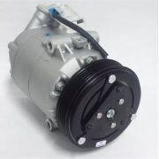 Compressor de ar condicionado GM Celta Prisma 2011 em diante Polia 5pk Original Delphi