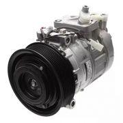 Compressor de ar condicionado Mercedes Actros diesel 2001 até 2019 original Denso