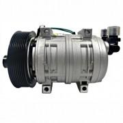 Compressor de ar condicionado - Modelo TM21 - 8PK - 12 Volts 4 Passantes