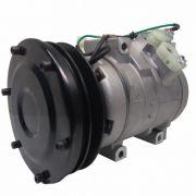 Compressor de ar condicionado Trator Caterpillar 310 - 320 - modelo 10S17