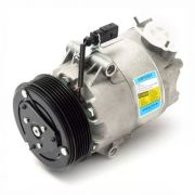 Compressor de ar condicionado VW Fox - Polo - Cross Fox - Gol G5 - 03>>07 Delphi