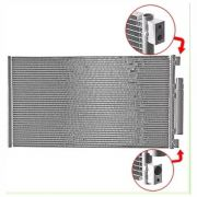 Condensador de ar condicionado Fiat Ducato Com Refil - Adaptação