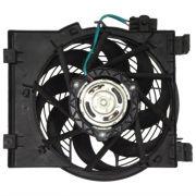Eletro ventilador condensador Corsa Sedan  - Montana 02>> C/Ar Gate Original