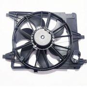 Eletro ventilador  para radiador GMV Renault Logan - Clio - Kangoo - C/AR
