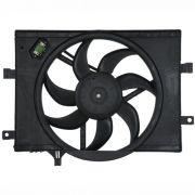 Eletro ventilador radiador Fiat Palio Fire - Idea - Siena - Com Ar condicionado Original Gate