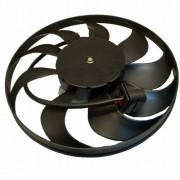 Eletro ventilador - Ventoinha - Motor + Hélice - VW Polo - Fox Com ar cond. 2003 até 2006