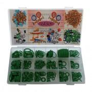 Kit de maleta orings diversos caixa com 256 unidades