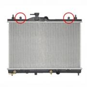 Radiador de água Nissan Tida 09/13 AUT./MAN.