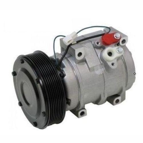 Compressor de ar condicionado 10S17 Maquina Caterpillar