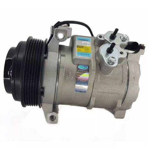 Compressor de ar condicionado 10S17 Sprinter 2002 até 2011 Delphi