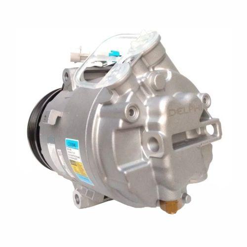 Compressor de ar condicionado CVC GM - Fiat - Corsa - Montana - MERIVA - Doblô - Palio - Strada - Stilo - Delphi