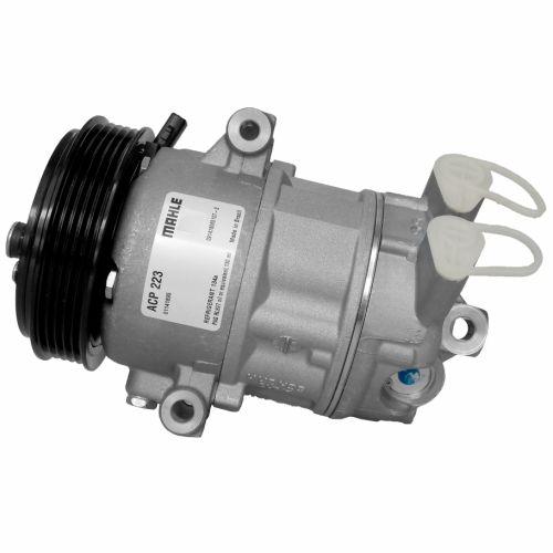 Compressor de ar condicionado Fiat Mobi - Argo - Cronos - Uno - Mahle - Original