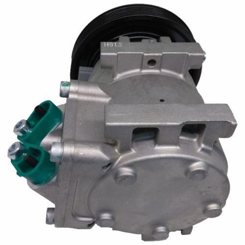 Compressor de ar condicionado Ford Fiesta - Eco Sport - ano 2006 até 2014 Valeo - Original