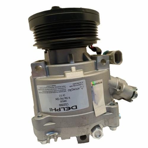 Compressor de ar condicionado GM Onix - 2012 em diante  - GM Spin - Cobalt - Prisma Delphi