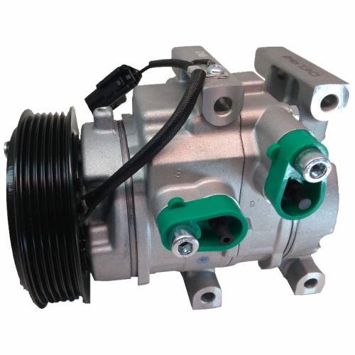Compressor de ar condicionado Hyundai HB20 - 2013 em diante - Delphi