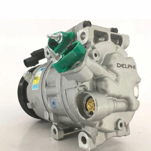Compressor de ar condicionado Hyundai Santa Fé - Vera Cruz - 2010 até 2015 - Delphi