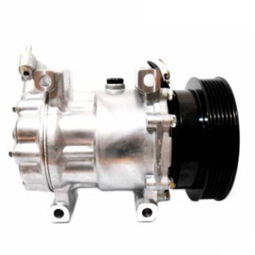 Compressor de ar condicionado Logan - Clio - Kangoo - Denso Original