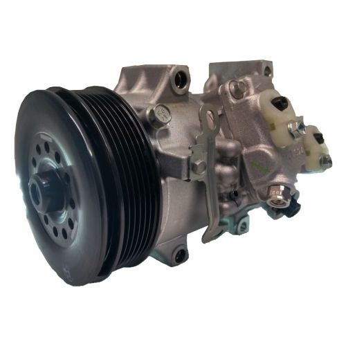 Compressor de ar condicionado Toyota Corolla 2010 até 2013 Original Denso 6SEU14C