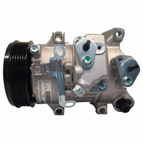 Compressor de ar condicionado Toyota Corolla ano 2010 até 2014 Original Valeo