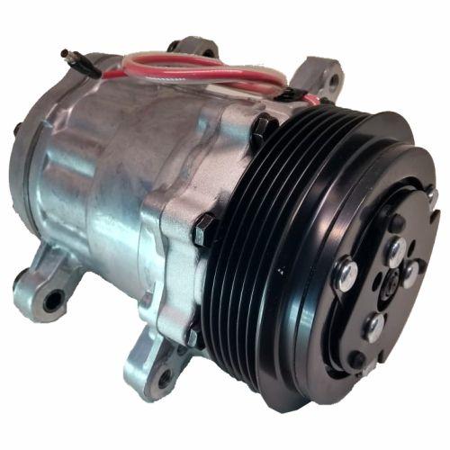 Compressor de ar condicionado universal 7B10 - Polia 6pk - Importado