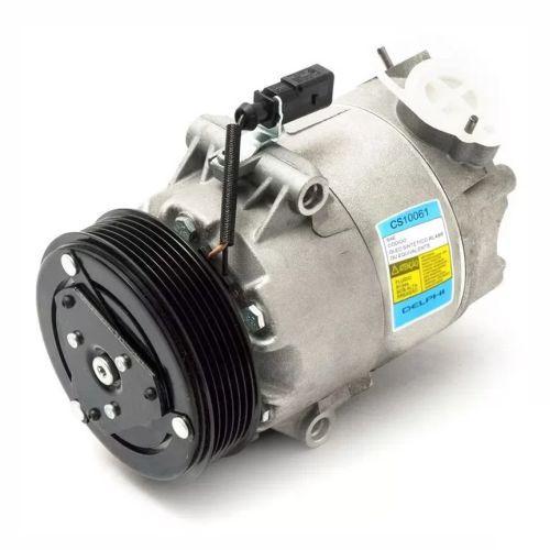 Compressor de ar condicionado VW Fox - Polo - Cross Fox - Gol G5 - 03>>07 Delphi