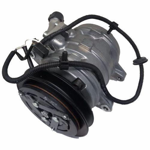 Compressor de ar condicionado VW Gol - 10P08 - Polia em V - Denso