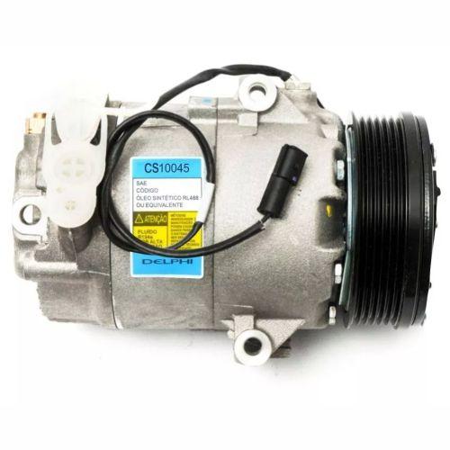Compressor de ar condicionado VW Gol G3 - Parati - Saveiro -2002 até 2009 Original Delphi