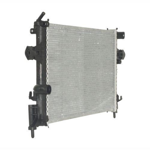 Radiador de água GM Astra / Zafira 99 até 2008 - Gm Vectra 2006 até 2008 - Com ar condicionado - Brasado Original Marelli