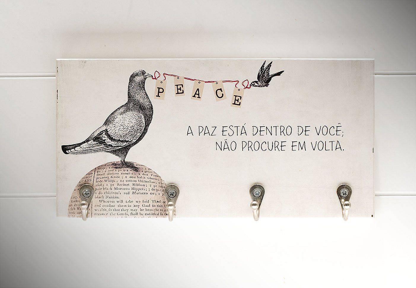 "Porta-Chaves ""Peace"""