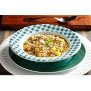 Sopa de Quinoa com Legumes