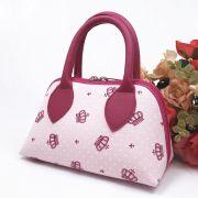 Bolsa Coleção Ester Rosa Coroa Pink